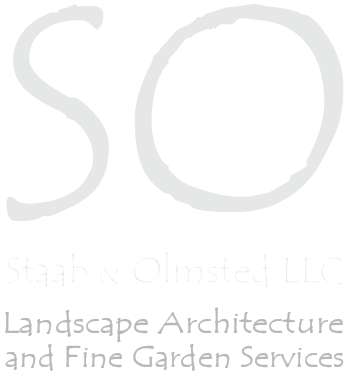Staab Olmsted Landscape Architecture and Fine Garden Services Logo